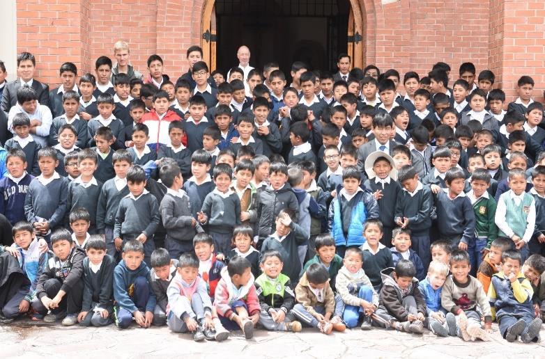 photo des enfants au Pérou