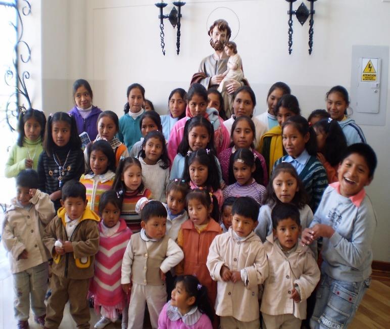 Photo des enfants à l'orphelinat