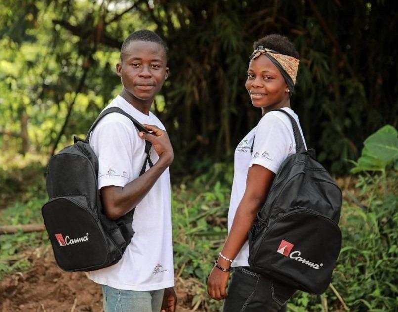 Élèves en Côte d'Ivoire